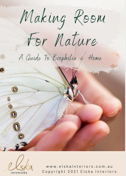 biophilic interior design ebook cover